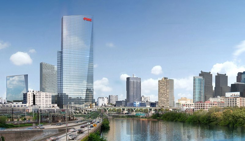 Facade Access challenges of Philadelphia's FMC Tower