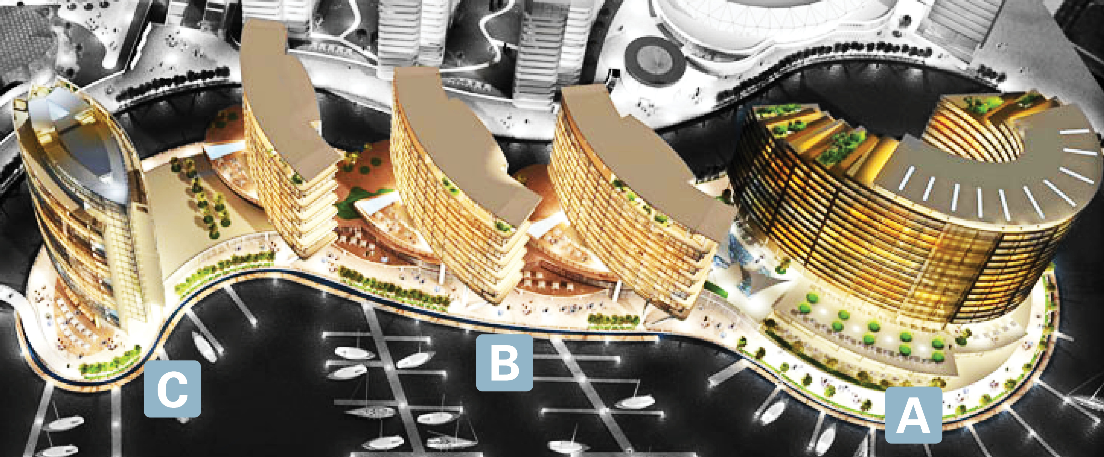 A Facade Access Solution For Jewel Of The Creek Dubai