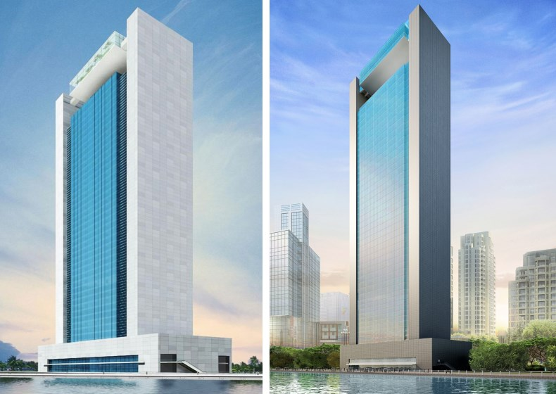 Amesco Tower Dubai United Arab Emirates Reference Project